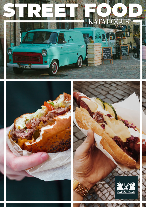 Street Food katalógus