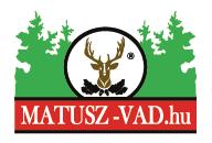 Matusz-Vad Webshop