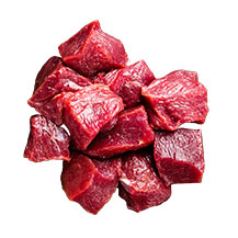 Rinds-Ragout 80/20
